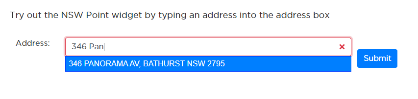 NSW Point