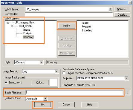 MapInfo - Add Layers