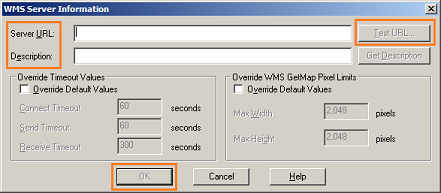 MapInfo - WMS Server Information