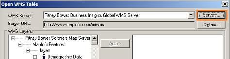 MapInfo - Servers