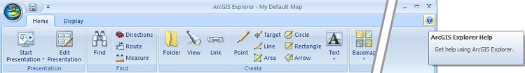 ArcGIS Explorer Help