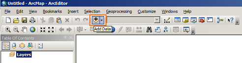 ArcMap - Add Data