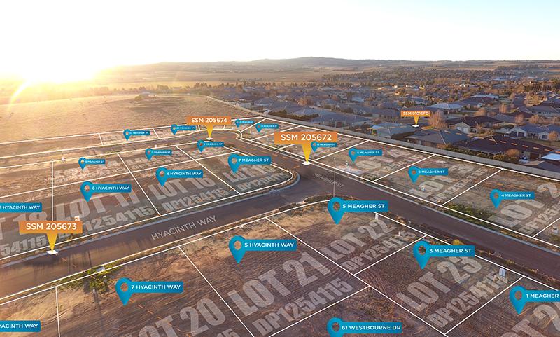 Cadastre story map image